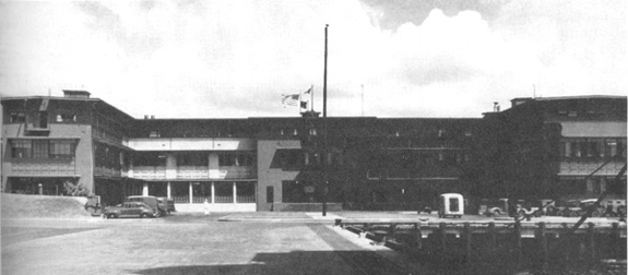 Administration Building at Pearl Harbor Naval Air Station